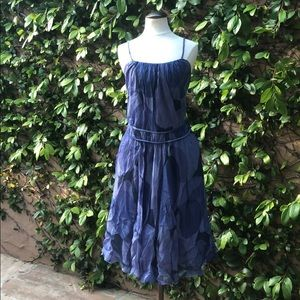 Moschino cheap and chic blue summer dress